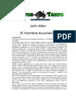 Allen John El Hombre Anumerico