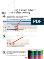 Creating a disco advert in Flash (part 2)