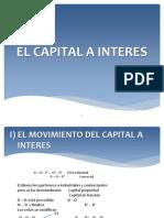 El Capital a Interes