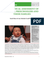 The Clinical Assessment of Infants, Preschoolers and Their Families -IACAPAP