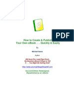 FREE eBook Tells You How to Publish Your Own eBook