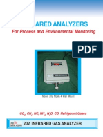 Model 202 Infrared Analyzers for Process and Environmental Monitoring