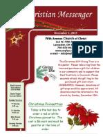 December 1 Newsletter