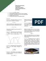Prova 3 de Cálculo I - Engenharia Mecânica UFPR