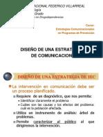 DISEÑO DE UNA ESTRATEGIA DE IEC