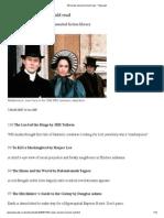 100 Novels Everyone Should Read - Telegraph