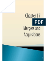 mergers and acquisitons