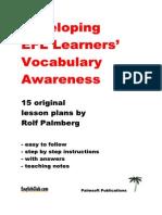 EFL Vocabulary Book