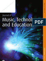 Journal of Music, Technology and Education