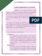 Importancia Del Proceso Administrativo en La Actualidad