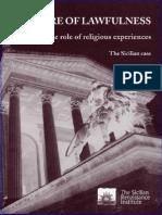 Il ruolo delle esperienze religiose nella cultura della legalità