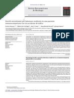 Fascitis necrotizante por Saksenaea vasiformis en una paciente inmunocompetente tras un accidente de tráfico