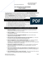 SONY HXR NX70U Study Guide Small