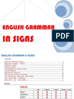 Grammar in Signs + TABLES