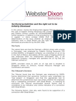Employment Law Solicitors - Webster Dixon Solicitors