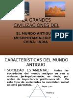 La Grandes Civilizaciones Del Mundo Antiguo