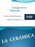 Tec. de Los Materiales Sem 14 Ceramica