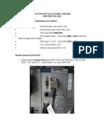 Prosedure Instalasi Kabel ESB MBC