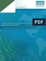 Situación educativa de América Latina y el Caribe Hacia la educación para todos 2015