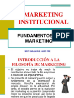 Maestría Marketing Institucional