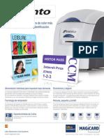Credenciales de Tarjetas Impresora de Tarjetas Pronto Ultramagicard