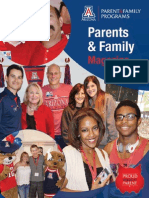 University of Arizona Parents & Family Magazine Fall 2013