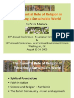 Essential Role of Religion - Full