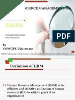 SBM &  HRM