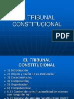 7) El Tribunal Constitucional