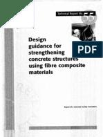Design Guidance for Strengthening Concrete Structures Using Fiber Composite Materials (2000)