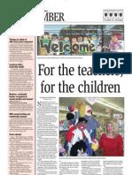 August 2009 Terrific Teachers by Megan Mottwiler