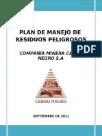 plan de manejo de residuos peligroso cerro negro.doc