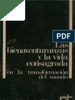 Alonso, Severino - Las Bienaventuranzas y La Vida Consagrada