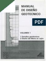 COVITUR - Manual de Diseño Geotécnico