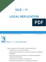 Module 11 Local Replication
