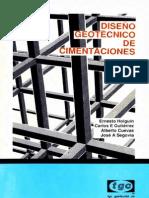 Holguin&Gutierrez&Cuevas&Segovia - Diseño Geotécnico de Cimentaciones