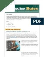 behavior bytes professional newsletter - danielai digmail