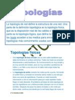 redes informaticas Topologías