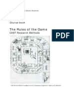 MPhil CAST Course Book Year 1 Period 2 (Rules of the Game) 1314
