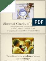Sisters of Charity of Nazareth Keynote Address