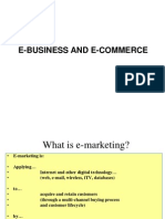 E Marketing and Business