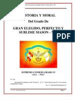Historia y Moral XIVº - I.·.P.·.H.·.Carlos Cornejo Lopez, 33º