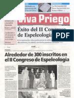 2008-05-06 Éxito Congreso 2 Espeleología Viva Priego