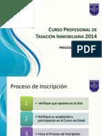Proceso de Inscripción Soitave 2014 (1)