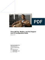 Cisco IOS Fax Modem and Text Support