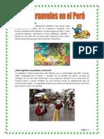 Carnavales en EL PERU 2