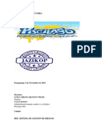 1° INFORME DE AUD PISCILAGO 2013