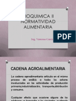Bioquimica II Normatividad Alimentaria