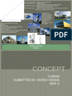 Concept of design of building