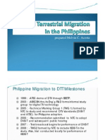 Digital Terrestrial Migration in the Philippines Part 1 - Melvin Acosta